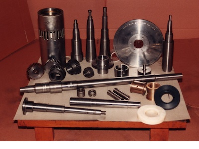 Various machine & mechanical components manufactured